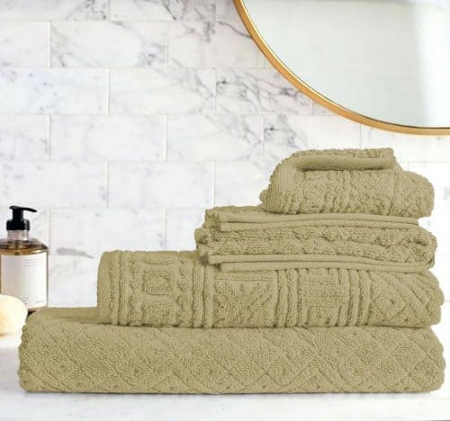 Egyptian Cotton | Blushy towel set Coffee