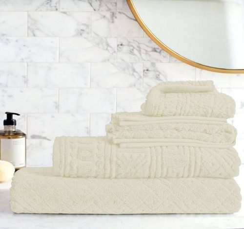 Egyptian Cotton | Blushy towel set Ivory