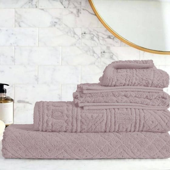 Egyptian Cotton | Blushy towel set Kashmeer