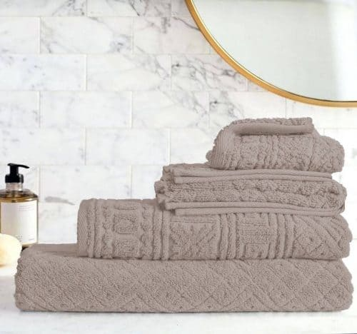 Egyptian Cotton | Blushy towel set Lavander