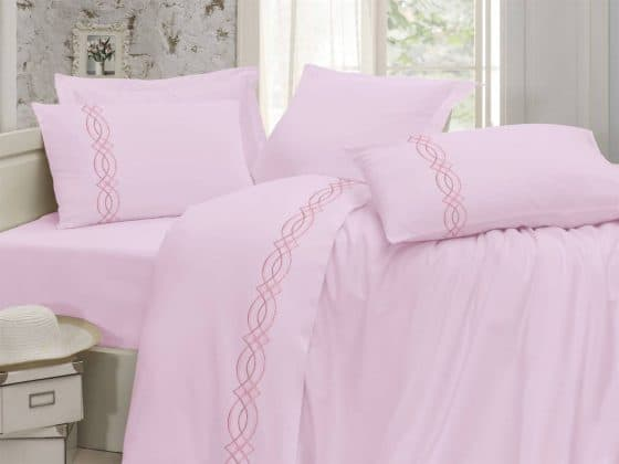 Egyptian Cotton | Diva bedsheets pink