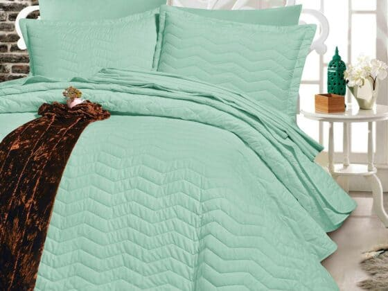 Egyptian Cotton | Lagouna duvet set pistachio