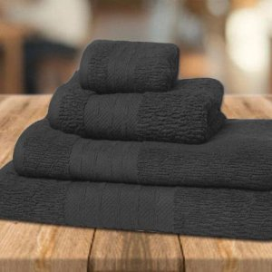 Gresy towel set Charcoal