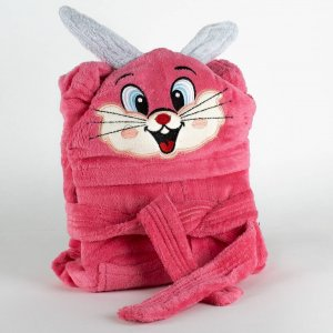 Kids bathrobe bunny 001