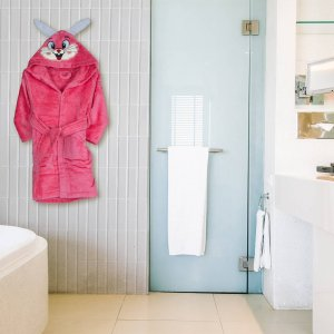 Kids bathrobe bunny 002