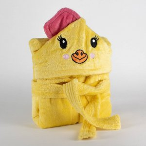 Kids bathrobe chicken 001