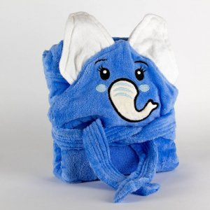Kids bathrobe elephant 001