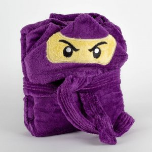Kids bathrobe ninja 001