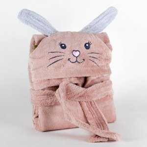 Kids bathrobe rabbit 001