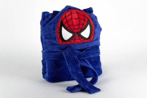 Kids bathrobe spiderman 001