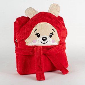 Kids bathrobe teddy 001