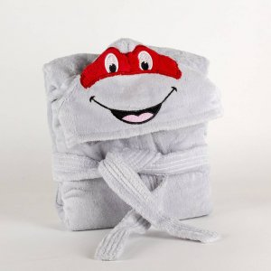 Kids bathrobe turtle 001