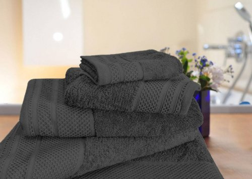 Lucy towel set Charcoal