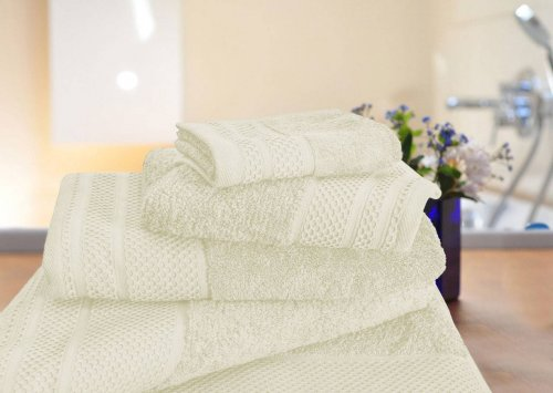 Lucy towel set Ivory