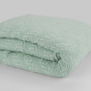 Pearly spring duvet green