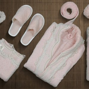 Rozo bathrobe set for women