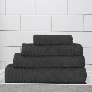 Vely towel set Charcoal