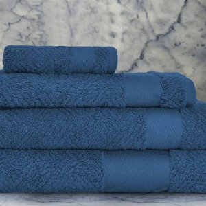 Waterfall towel set Blue